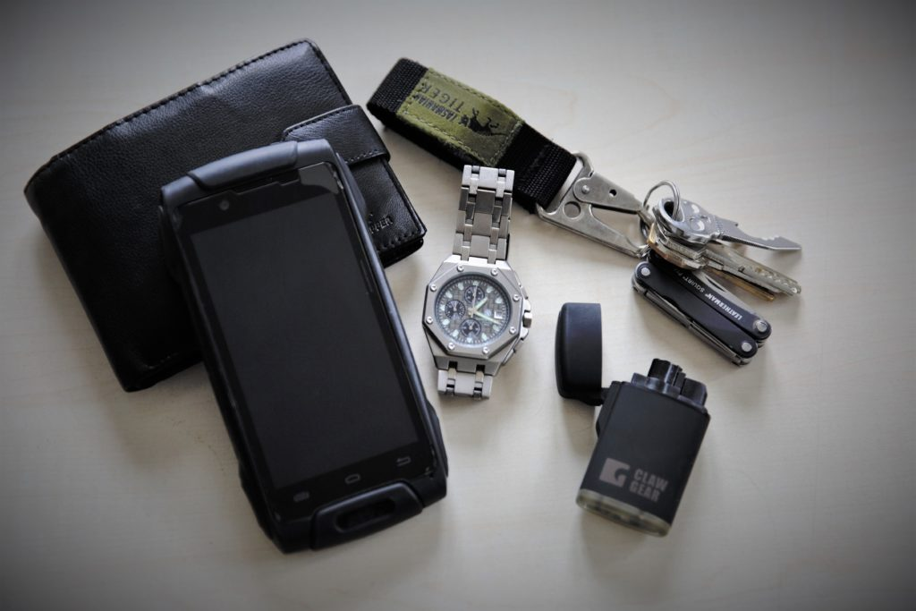 "The most common ""everyday Joe's"" EDC stuff most of us can find on themselves, straight off the author."